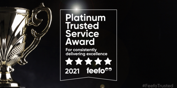 Super Contractors awarded Feefo Trusted Award 2021